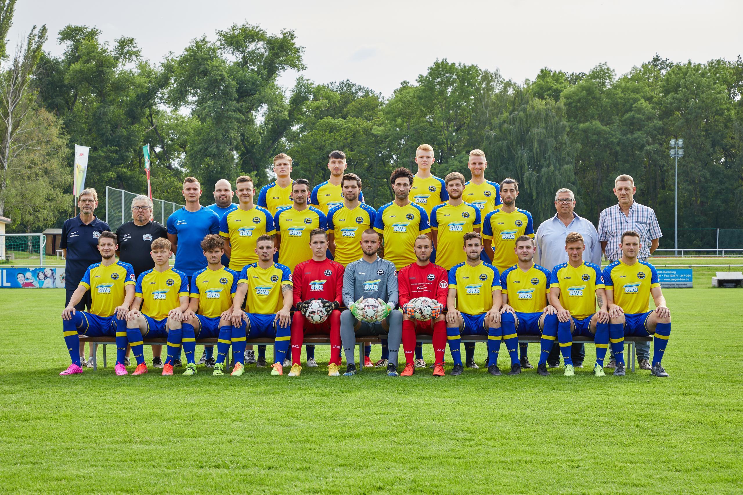Mannschaftsfoto - 1. Männer - Saison 2021/22