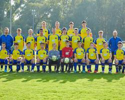 Mannschaftsfoto - B-Junioren - Saison 2021/22