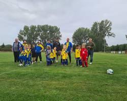 G-Junioren: 3. Spielrunde in Warmsdorf